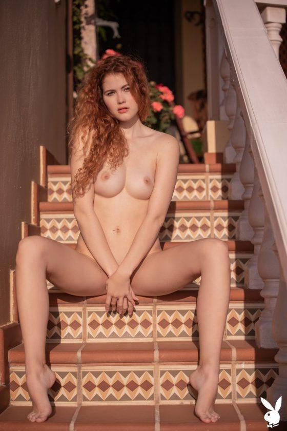 Heidi Romanova Nude In Breathtaking View Playboy Model Photos